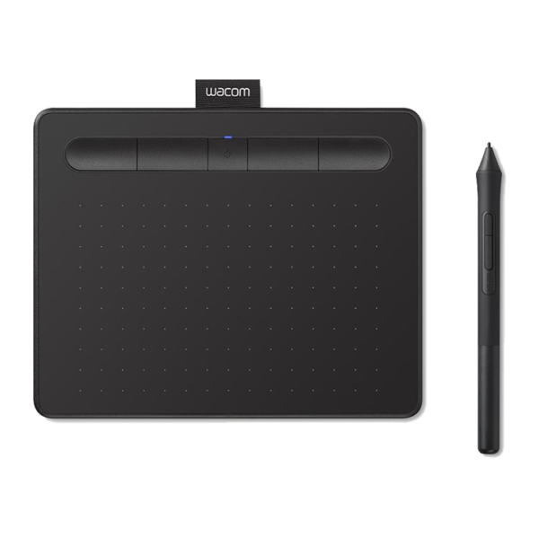Wacom Intuos Wireless Graphic Drawing Tablet - Small - Black